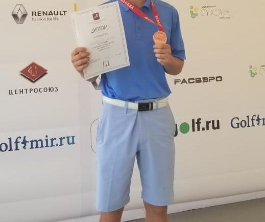 Гольфист из Казани Илья Кабанов победил в турнире The Cyprus Amateur Men's Open!