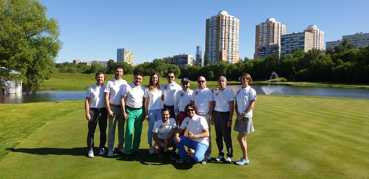 19 мая прошёл первый этап «Любительской лиге гольфа»
