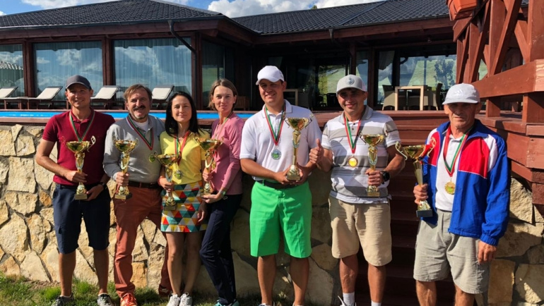 Завершился чемпионат Республики Татарстан по гольфу