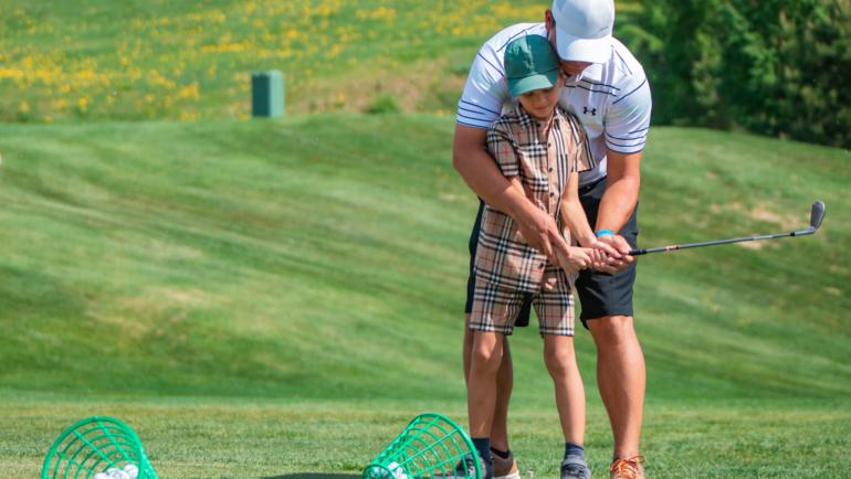 День открытых дверей Детская академия гольфа